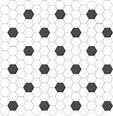 Unique Black And White Vinyl Floor Tiles #3 Black And White Hexagon Floor Tile
