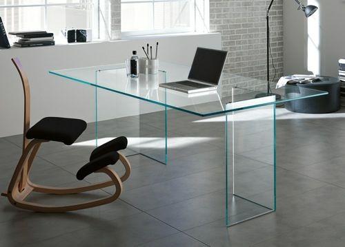 Schreibtisch Glas Design 2021