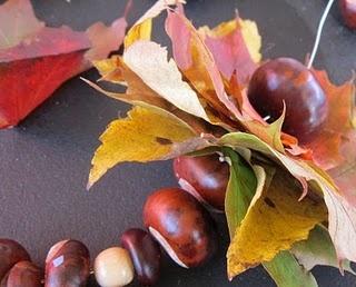 Herbstgirlande
