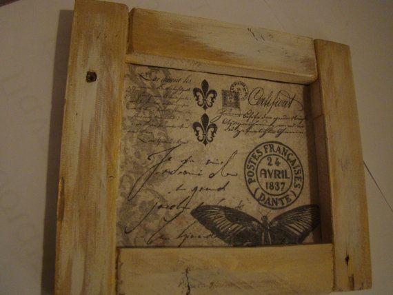 handmade frame by demetradaskoupo on Etsy