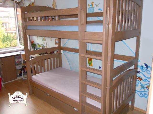 Ágymester emeletes ágy ágyneműtartóval