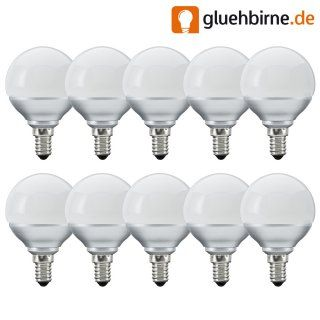 10 x Paulmann LED Miniglobe G60 2,3W E14 Opal matt...