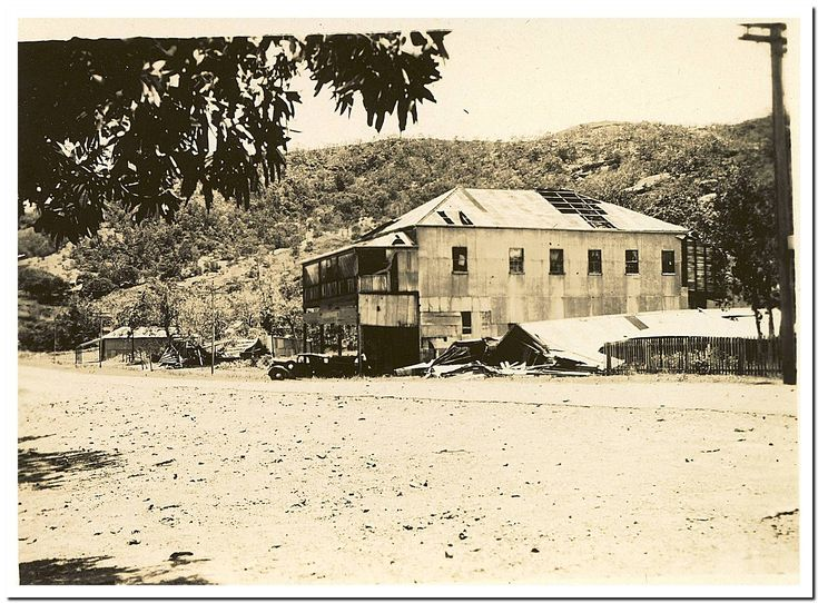 1949 Cooktown Cyclone: Guest House and Walmsley's.
