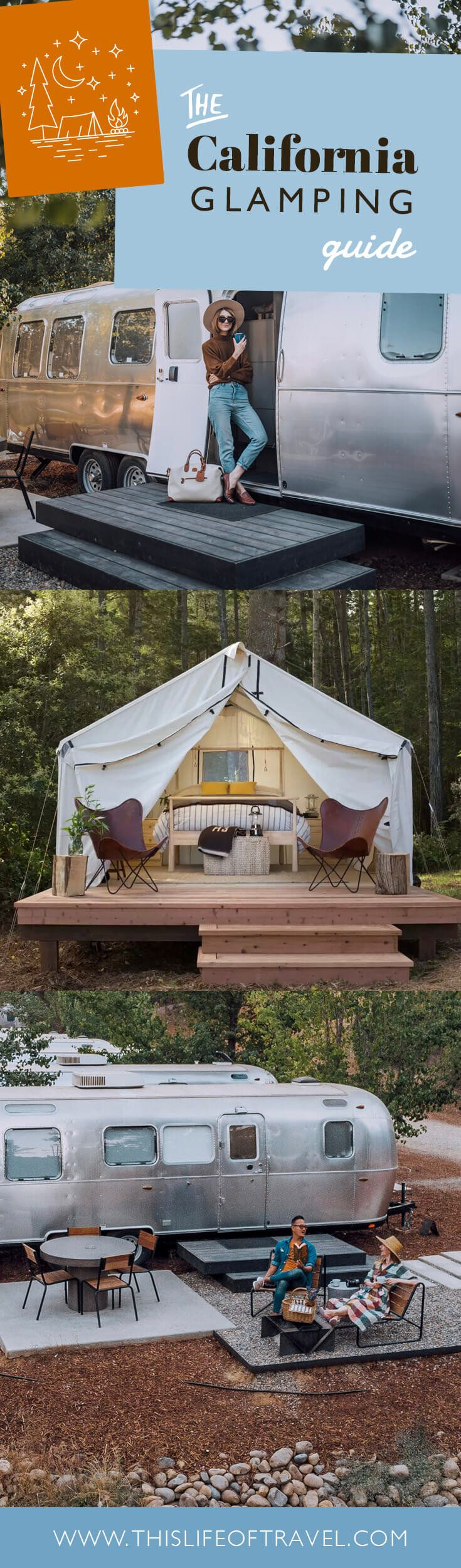 Finest Glamping Spots in California
