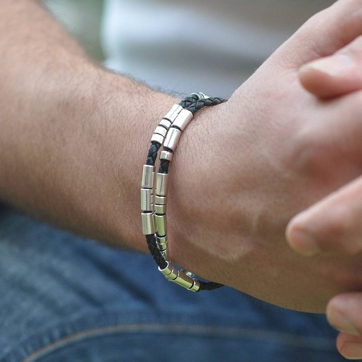 No instructions Personalised Morse Code Bracelet - what a simple and neat idea