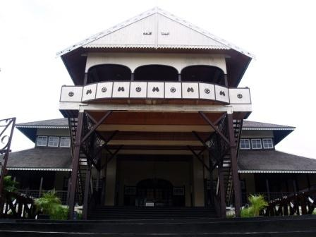 =Betang House, West Borneo=
