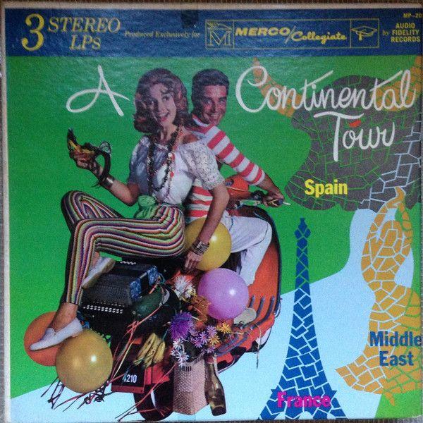 Mohammed El-Bakkar & His Oriental Ensemble - A Continental Tour (Vinyl, LP, Album) at Discogs