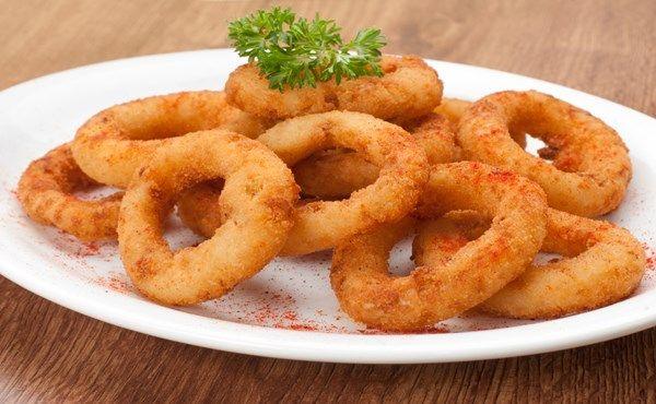 Receitas Rápidas e Fáceis: Como Fazer Cebola Empanada Frita Simples (Onion Ri...