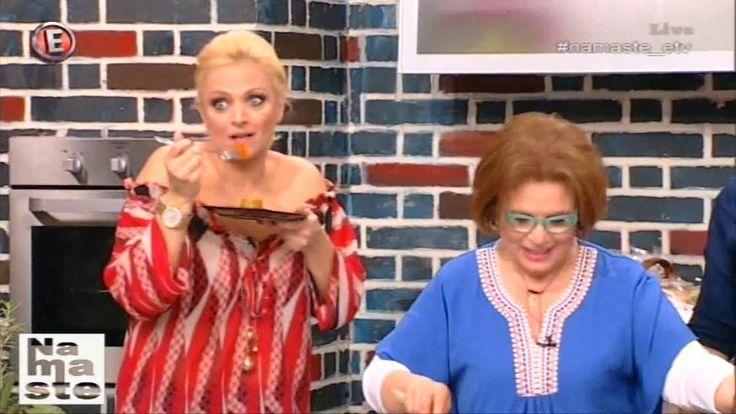 """Η Ρένα της Φτελιάς μαγειρεύει φασολάκια λαδερά με πατάτες - """"NaMaSte"""" 31..."""