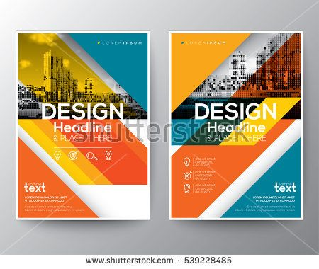 28 best Graphic design template images on Pinterest Graphic - annual report cover template