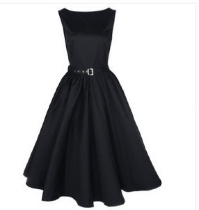 Audrey Hepburn Style Vintage Dresses | Aliexpress.com : Buy 1950 1940s dress Vintage Retro Rockabilly Audrey ...
