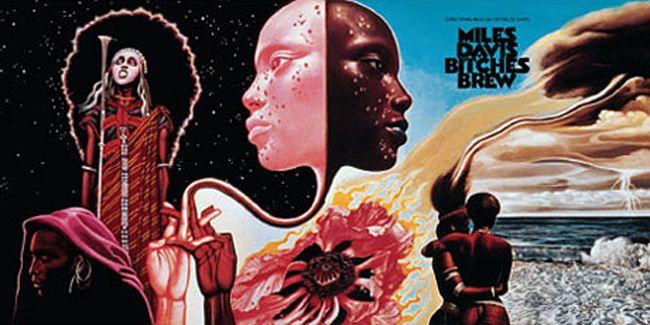Miles DavisMusic, Mo'N Davis, Album Covers, Mati Klarwein, Artists, Miles Davis, Artworks, Bitch Brew, Covers Art