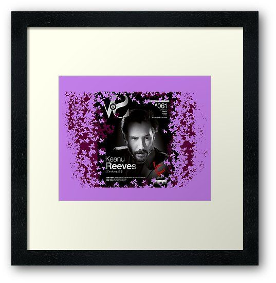 Buy 'Keanu Reeves VS Planet Magazine (With His Signature) Purple' by VanyssaGraphics as a T-Shirt, Classic T-Shirt, Tri-blend T-Shirt, Lightweight Hoodie, Women's Fitted Scoop T-Shirt, Women's Fitted V-Neck T-Shirt, Women's Relaxed Fit T-S...