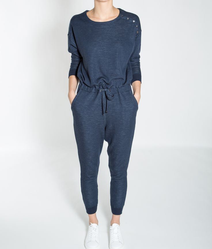 Base Two Onepiece Women JeansBlue
