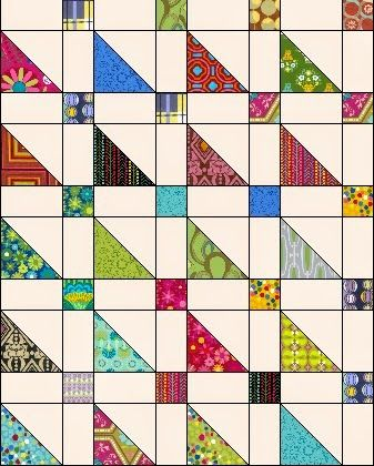 Tutorial Jelly turnover Quilt. By Moda Bake Shop                                                                                                                                                                                 Mehr