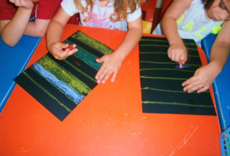Προσχολική Παρεούλα : Τεχνικές ζωγραφικής !!!!