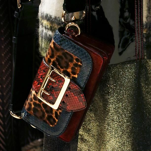 A rich tapestry of colours, prints and patterns: A Patchwork, Burberry February 2016. Introducing the new runway bag, The Patchwork, with no two styles the same. Each style is uniquely designed and individually named
