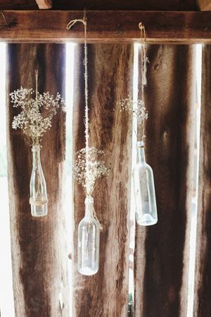babys breath hanging decor  barn wedding rustic country brides of adelaide magazine