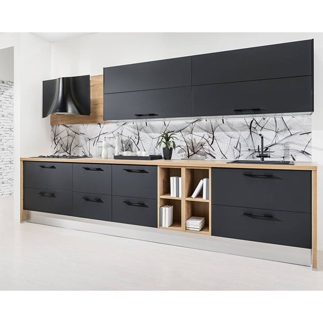 Kuchyňa Iris v supermat #decodom #kuchyna #black #matte #topolcany #nabytok