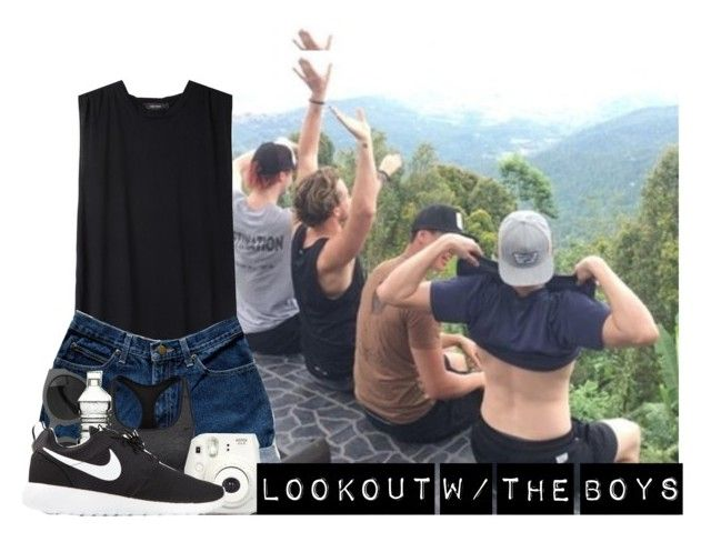 """""""'lucas robert hemmings what are you doing?!'"""" by gamermichael ❤ liked on Polyvore featuring Isabel Marant, NIKE, Fujifilm, Dot & Bo, 5sos and 5secondsofsummer"""
