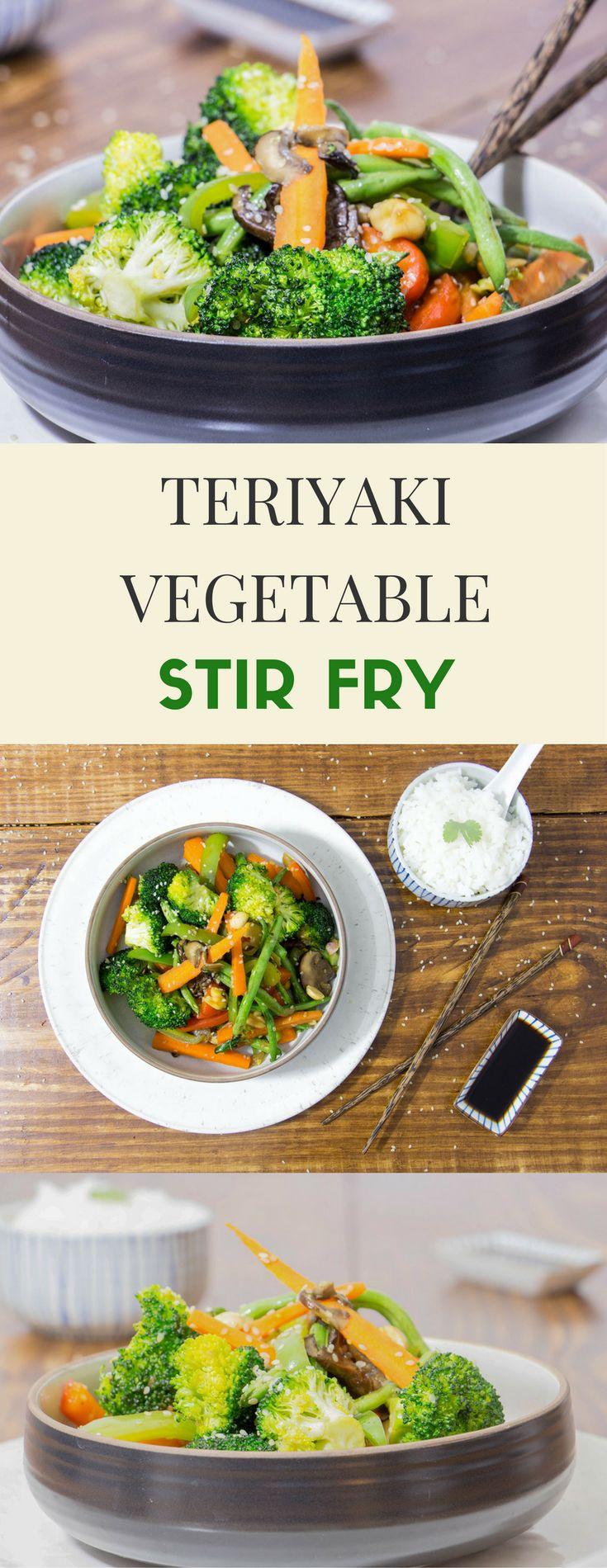 Teriyaki Vegetable Stir-Fry