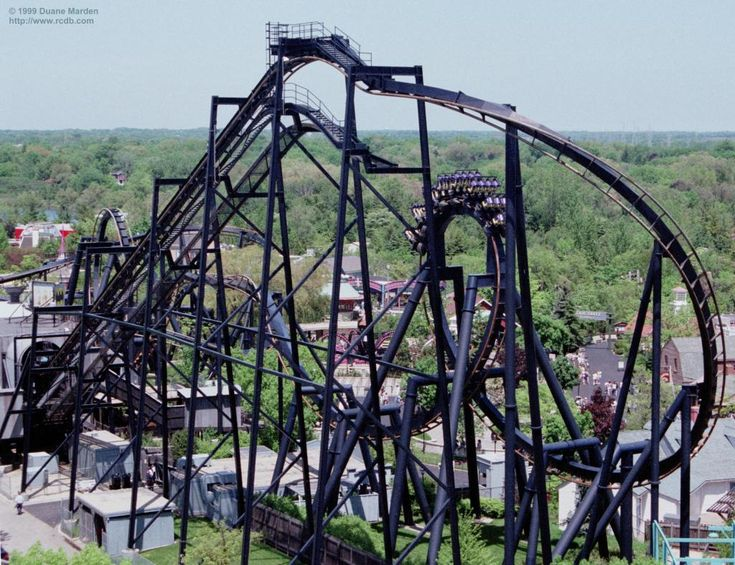 Batman: The Ride - Six Flags Great America