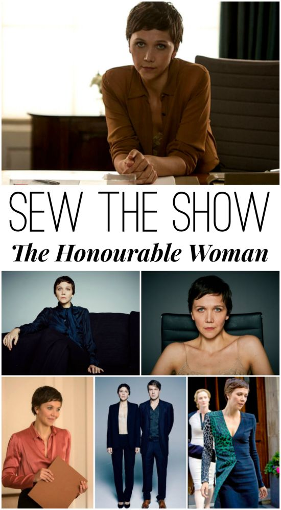 New sew along on Alida Makes...sew the show! February's show is The Honourable Woman.