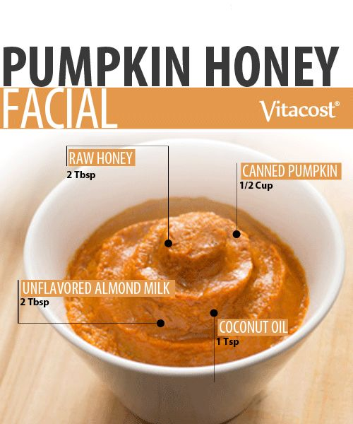DIY Pampering Pumpkin-Honey Facial use NASSA Cucumber Glasses for the eyes perfect at home fall facial