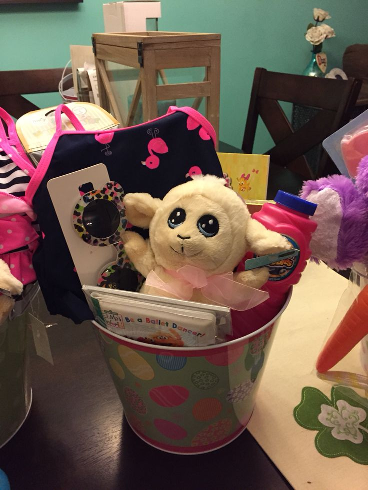 71 best baskets and crafts ive made images on pinterest baskets easter basket for niece negle Choice Image