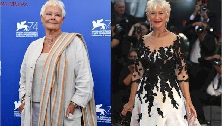 Judi Dench y Helen Mirren se lucen en Venecia