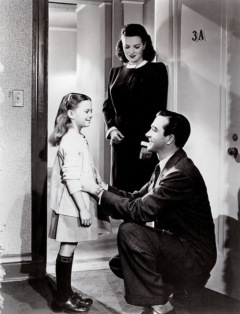 Natalie Wood, John Payne and Maureen O'Hara on Miracle on 34th Street (1947) | Flickr - Photo Sharing!