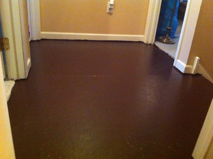 Painted plywood flooring flooring ideas pinterest for Painted wood floor ideas