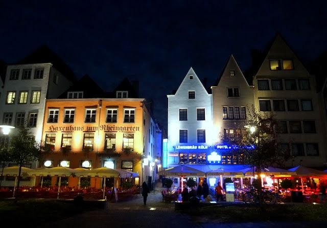 Fish market area of Cologne, Germany