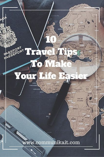 10 Of My Best Travel Tips