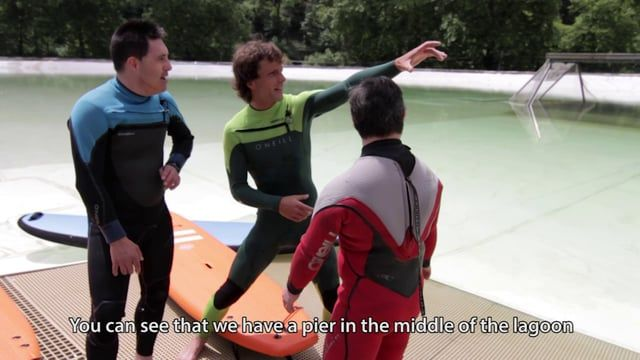 As part of a test series being conducted at their headquarters in Northern Spain, Wavegarden recently invited the stars of the Basque TV show Down-Town, Iñigo Hermoso and Urtzi Urrutia, to experience a surfing lesson with local surfer Axi Muniain. The purpose of this test was to show the practicality of the Wavegarden lagoon as an ideal and safe location for all kind of beginners to learn to surf away from strong currents, deep water, rocks and other dangers commonly found in the ocean…