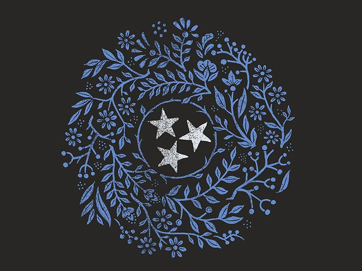 Tennessee - The Tristar State by Derrick Castle