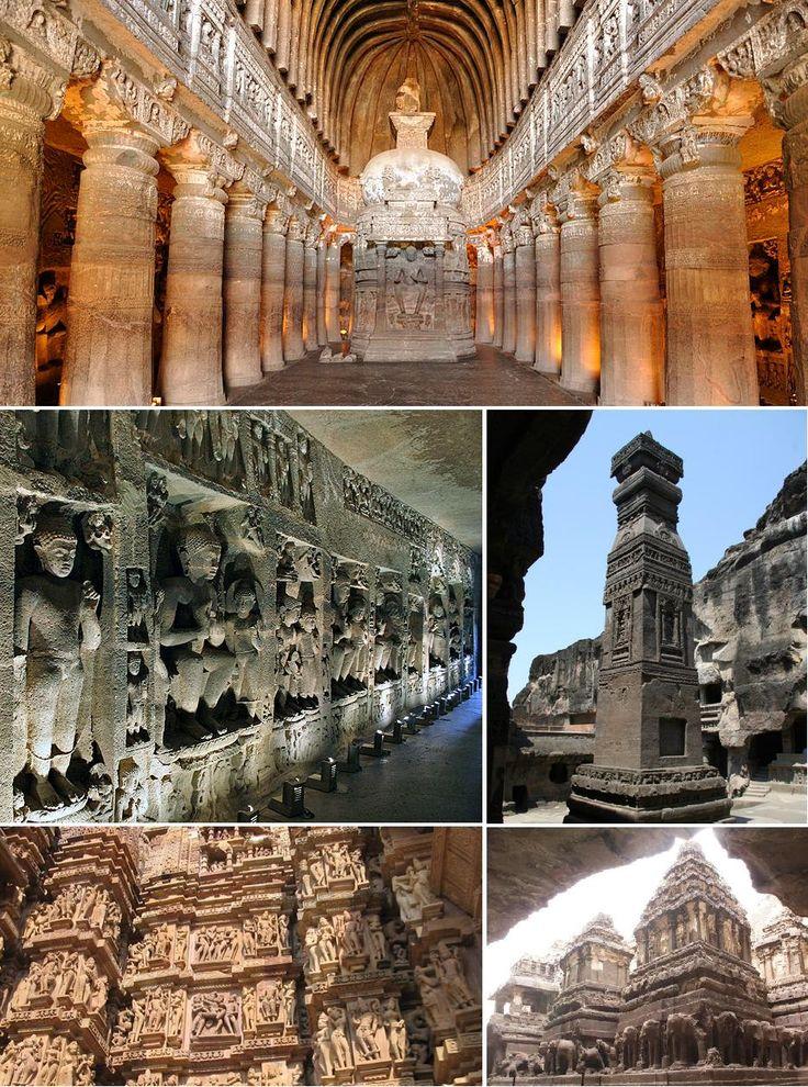 Ajanta and Ellora Caves Tour - India Tours @ Tours from Delhi  http://toursfromdelhi.com/4-days-ajanta-and-ellora-caves-tour