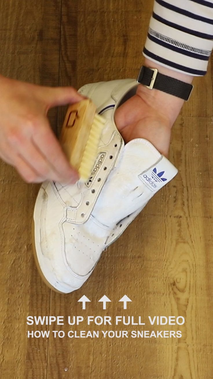 Pin von Aphrodite auf Sneakers Cleaning Guide [Video