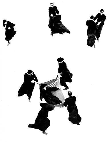 Mario Giacomelli :: Io non ho mani che mi accarezzino il volto / I have no hands to caress my face, 1961–63 more [+] by M. Giacomelli
