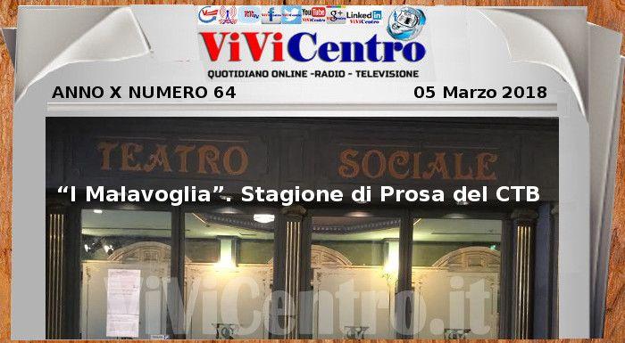 """Teatro Sociale Brescia: """"I Malavoglia"""". Stagione di Prosa del CTB"""