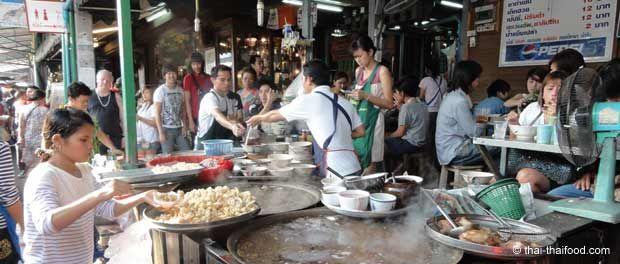 Essen auf dem Chatuchak Markt
