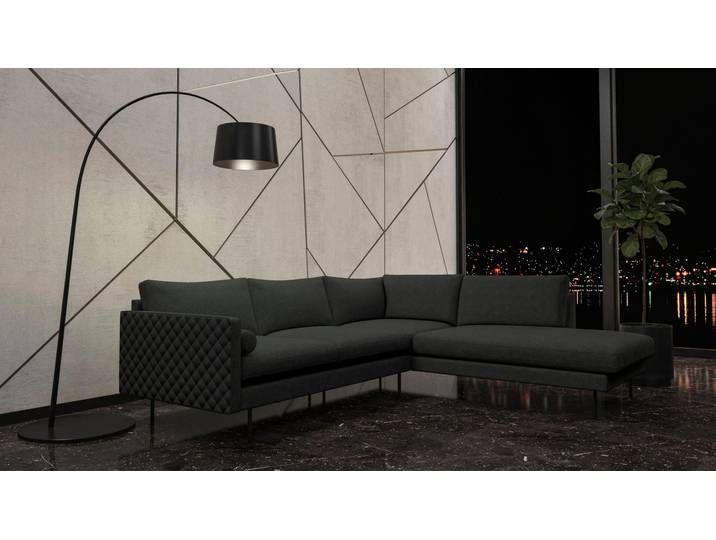 Places Of Style Eck Couch Sicilia Grau Fsc Zertifiziert In 2020 Sofa Home Decor Furniture