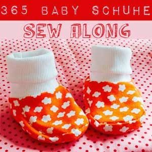 Baby Schuhe 365 Tage Sew Along