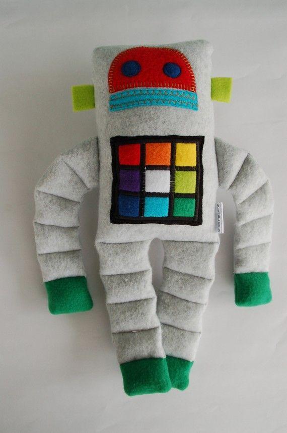 Felt Robot Plushie