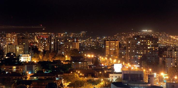 Santiago, summer night
