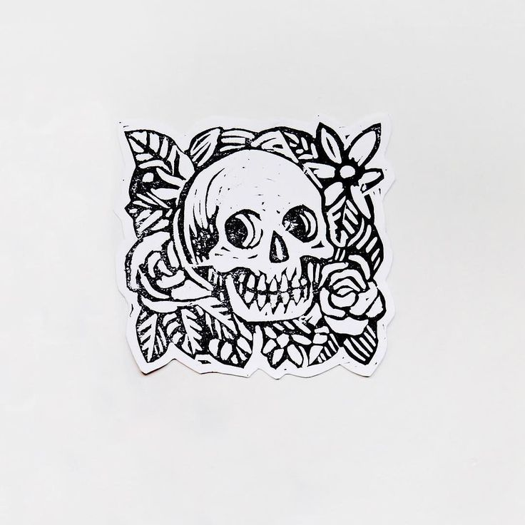 Latest Lino  Managed to get A5 and A4 sized blocks today let's see what they turn into! #linocut #linoprint #linoprinting #lino #linoleum #art #traditional #blockprint #blockprinting #print #printing #printmaking #skull #floral #samdunn #dunn #diy #diyordie #illustration #drawing #inking #ink #linoleumprint by xsamdunnx