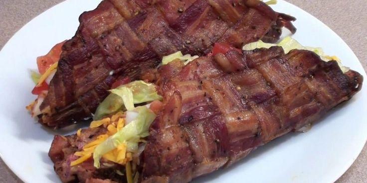 Tacos de bacon, raro raro