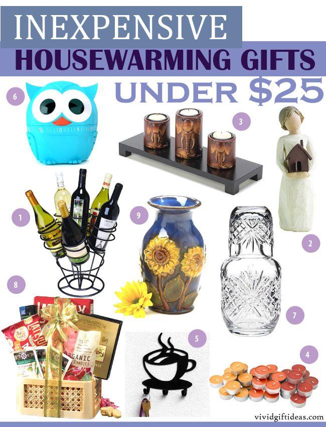 Inexpensive Housewarming Gift Ideas