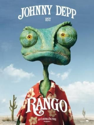 Rango Movie Poster 24inx36in