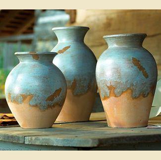 Adobe Pots ~ Set of 3